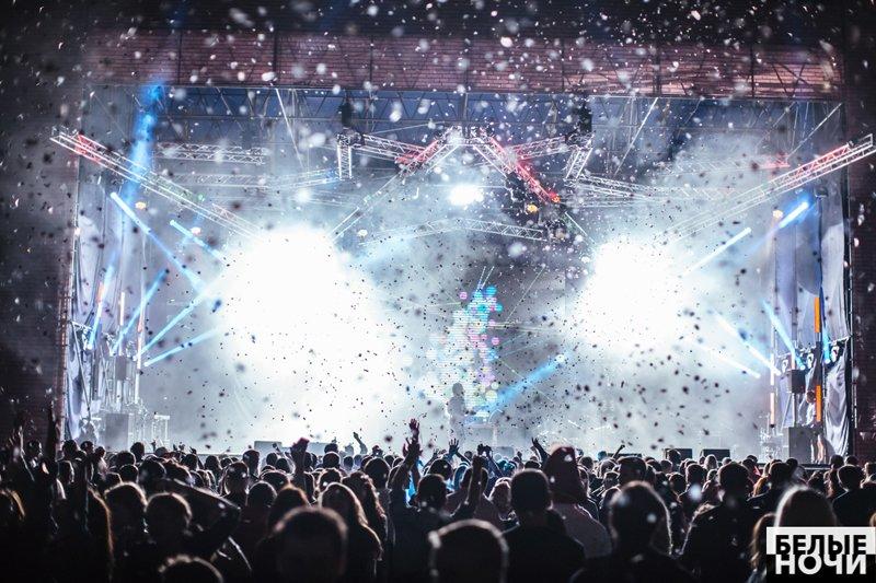 фестивали или в белом видео